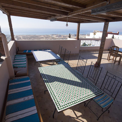 Family surf yoga Guest house Taghazout Morocco